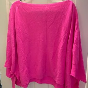 Juicy Couture Hot Pink Poncho